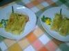 Cannelloni di migliacci con ripieno di asparagi